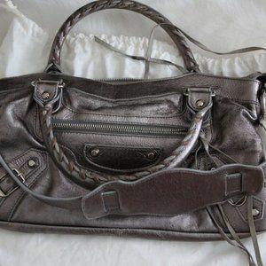Pewter Balenciaga First City Bag 2005 (VERY RARE!)